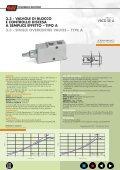 overcentre valves valvole di blocco e controllo ... - Mega Industrial - Page 6