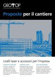catalogo geotop proposte cantiere 2010 - Diemmestrumenti.com
