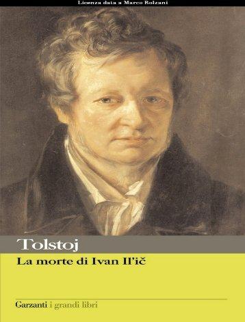 La Morte Di Ivan Il'ic (pdf)