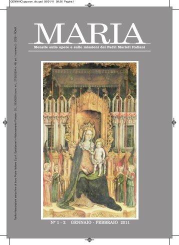 Giornale in Versione PDF - Padri Maristi