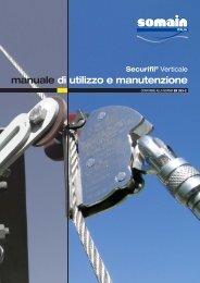 manuale di utilizzo e manutenzione - Somain Italia