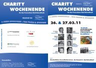 Charity Wochenende 2011 - Programm & Infos - Inner Smile...Yoga!