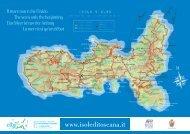 cartina dell'Isola d'Elba