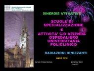 Radiazioni Ionizzanti - Università di Modena e Reggio Emilia ...