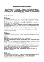 Decreto Legislativo 15 agosto 1991 Numero 277 - Uil