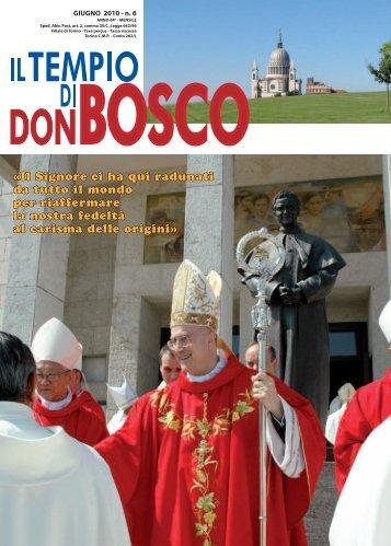 Il Signore ci ha qui radunati da tutto il mondo per ... - Colle Don Bosco