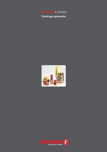 valvole a sfera 0312it - Giacomini