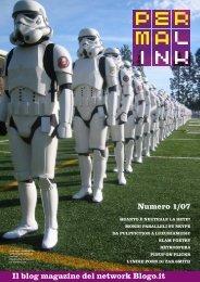 Numero 1/07 Il blog magazine del network Blogo.it