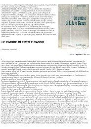 LE OMBRE DI ERTO e CASSO - (print) - Vajont.info