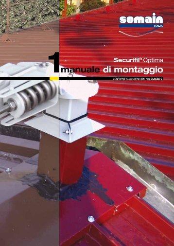 manuale di montaggio - Somain Italia