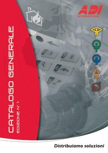 CATALOGO GENERALE Edizione n - ADI-GARDINER