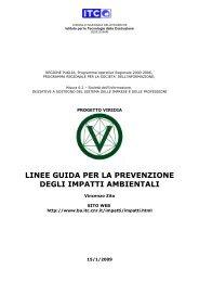 linee guida per la prevenzione degli impatti ambientali - CNR Solar