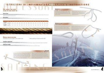 istruzioni Di iMPioMBAturA sPLiCE's instruCtions