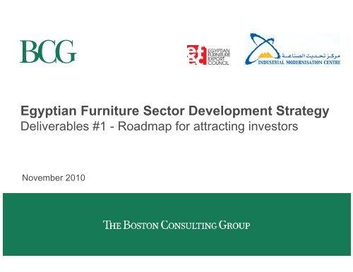 Furniture Sector Development Strategy En Pdf Imc Egypt