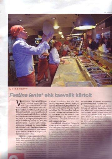 Eesti Ekspress Creme - 19.06.08 (pdf) - Vapiano