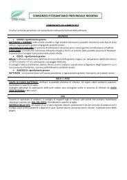 Comunicato n.2-4 marzo 2013 - Consorzio Fitosanitario Provinciale ...