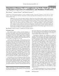 Stimulation of Human CD4 T Lymphocytes via ... - Bentham Science