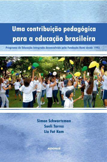 para a educação brasileira - Simon Schwartzman