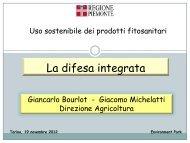 La difesa integrata - Regione Piemonte
