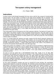 Two-queen colony management - Immenfreunde