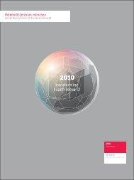 Annual Report 2010 Helmholtz Zentrum München - Deutsches ...