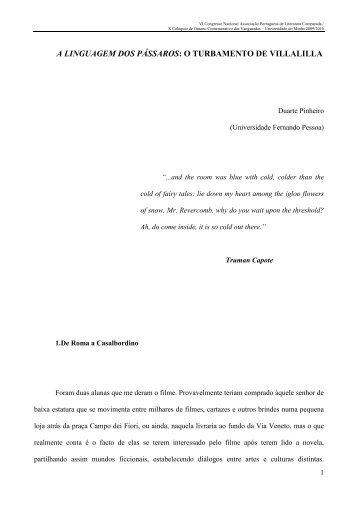 Duarte Pinheiro (Universidade Fernando Pessoa) - Universidade do ...