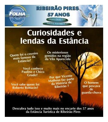 Curiosidades e lendas da Estância - Folha Ribeirão Pires