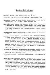 Sumário dêsie número - Biblioteca do IBGE