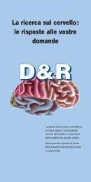 Le risposte alle vostre domande sulla ricerca sul ... - Dana Foundation