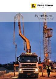 Pumpkatalog - Färdig Betong