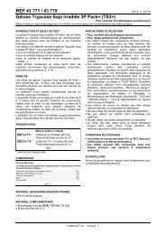 Gélose Trypcase Soja Irradiée 3P Pack+ (TS3+) - bioMerieux
