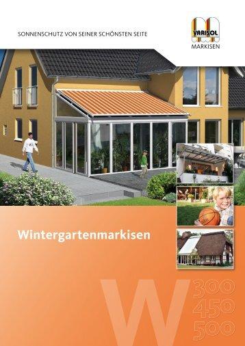 Wintergartenmarkisen - Varisol