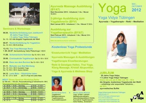 Yoga vidya tübingen