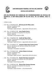 ATA 02/04/2013 - Escola de Química / UFRJ