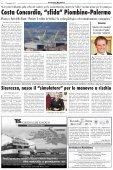 Palermo-Piombino, la disfida della... Concordia - Avvisatore ... - Page 3