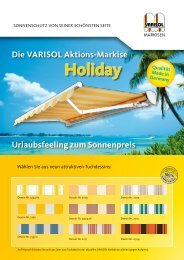 Flyer zur Holiday - Varisol