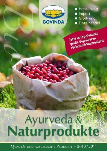 Ayurveda & - Govinda Natur GmbH