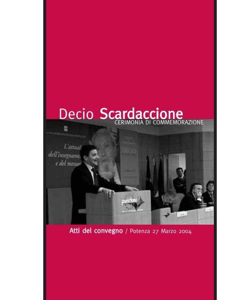 Presentazione - Consiglio Regionale della Basilicata