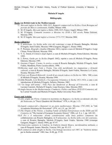 University bibliography