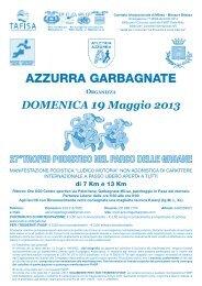 AZZURRA GARBAGNATE - Podismo Lombardo