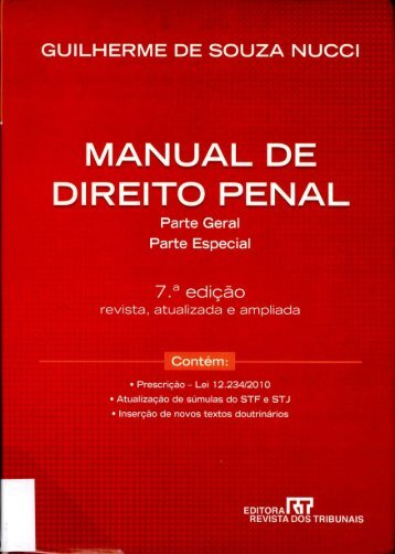 MANUAL DE DIREITO PENAL - STF