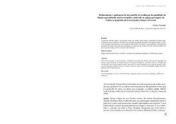 Delineamento e aplicaçom de um modelo de avaliaçom da ...