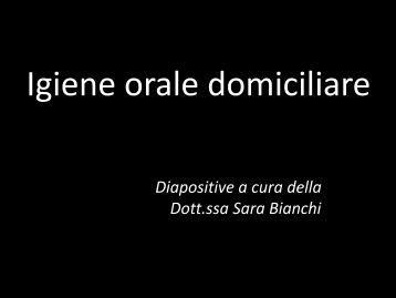 Presentazione Igiene Domiciliare - Studio Parma Benfenati