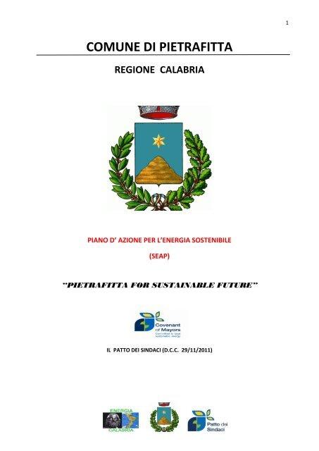 COMUNE DI PIETRAFITTA - Covenant of Mayors