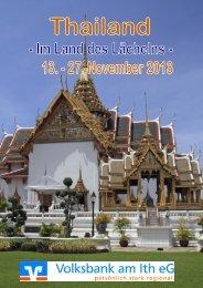 Flyer Thailand-Reise (PDF)