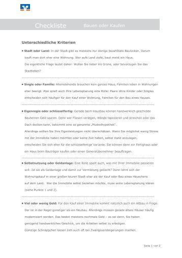 eigentumswohnung kaufen checkliste checkliste eigentumswohnung profipool eshop projekte oliver. Black Bedroom Furniture Sets. Home Design Ideas