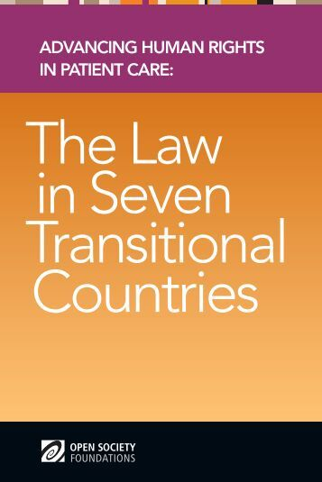 The Law in Seven Transitional Countries