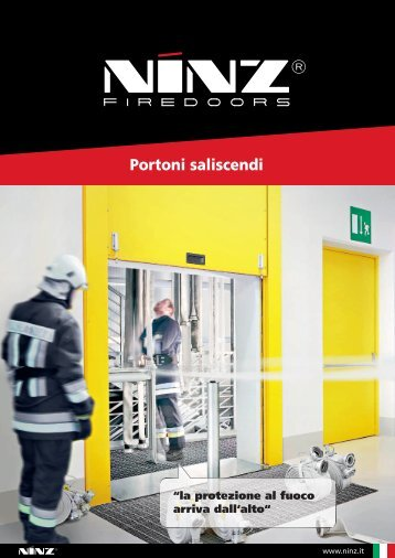 Catalogo - Ninz - Portoni saliscendi - Fireservice