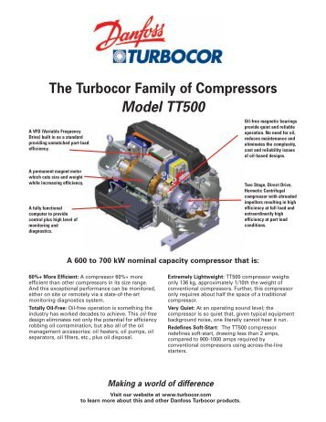 TT500 - Danfoss Turbocor Compressors Inc.
