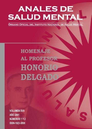 LIBRO H.DELGADO 2008.pmd - Instituto Nacional de Salud Mental